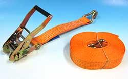 Strålande Lyftredskap, surrningar - Spännband 0,5 - 10 ton QK-92